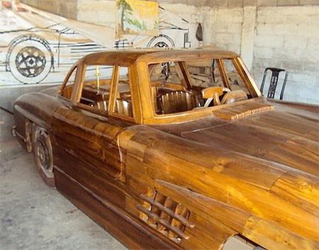 木製のメルセデス・ベンツ04