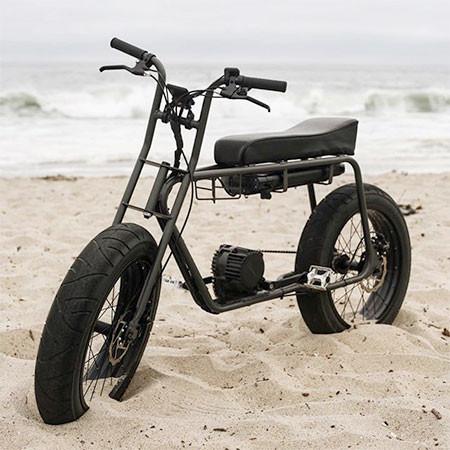 【画像】気分はアウトロー!バイクのように乗れる電動自転車!!の画像(6枚目)