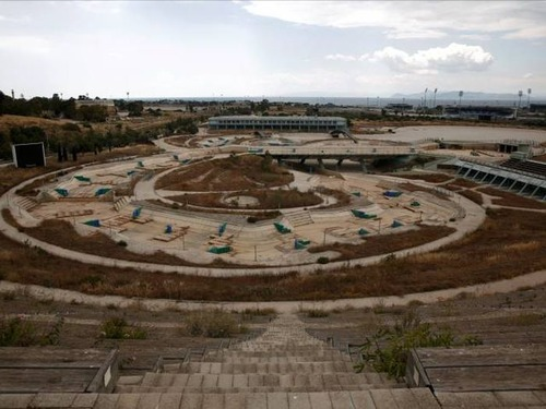 アテネのオリンピックの競技場の現在の画像(29枚目)