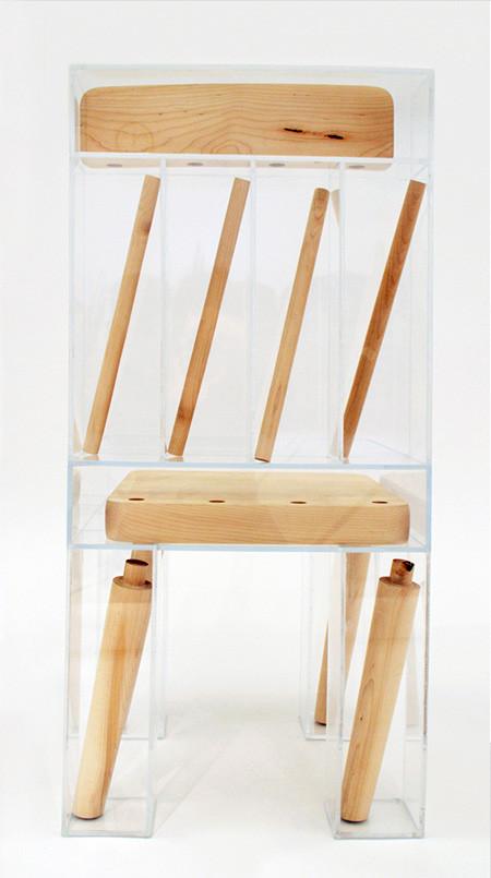 組立てたくなる椅子の画像(4枚目)