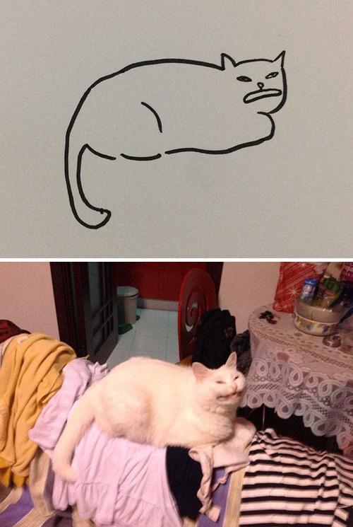 猫のイラストの画像(12枚目)