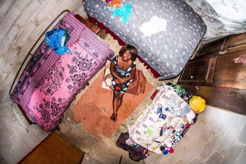 世界各国の人達のベッドルームの画像(26枚目)