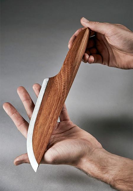 ほぼ木でできた包丁の画像(8枚目)