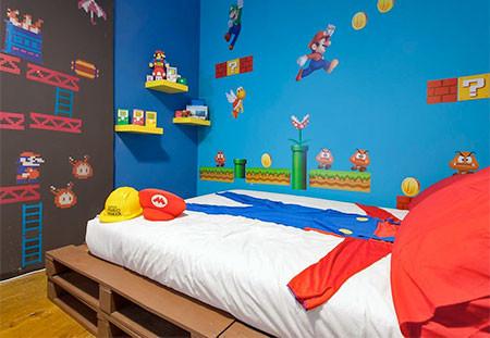 部屋一面スーパーマリオの画像(12枚目)