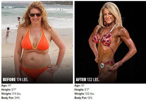 やればデキル!ダイエット肉体改造のビフォーアフターの画像の数々!!の画像(15枚目)