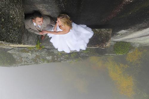 【画像】結婚式も凄い!エクストリームウェディング!!の画像(3枚目)