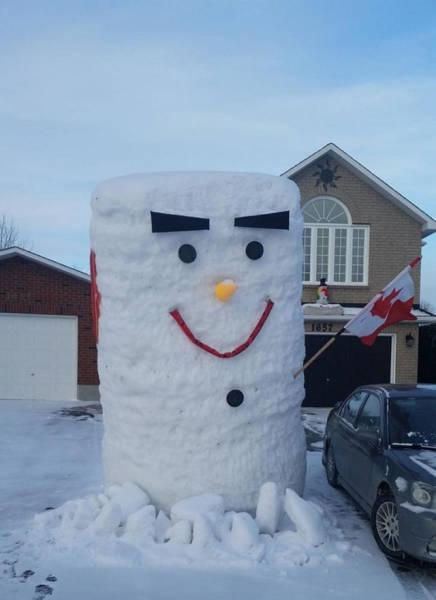 冬を楽しむカナダの人達の画像(20枚目)