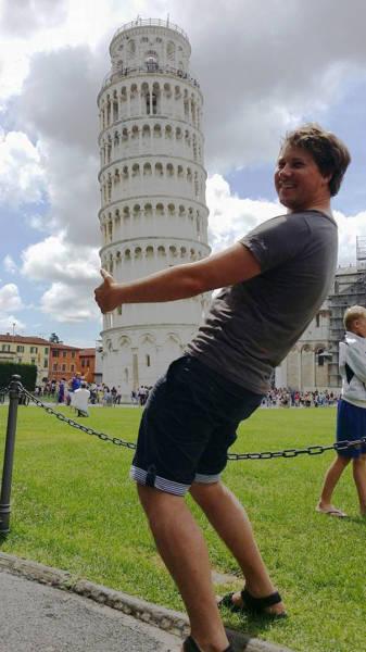ピサの斜塔の記念撮影の画像(34枚目)