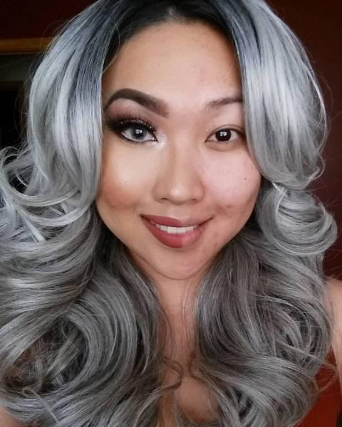 女性の化粧をする前と後の画像(4枚目)