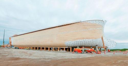 実物大の『ノアの箱舟』の画像(4枚目)