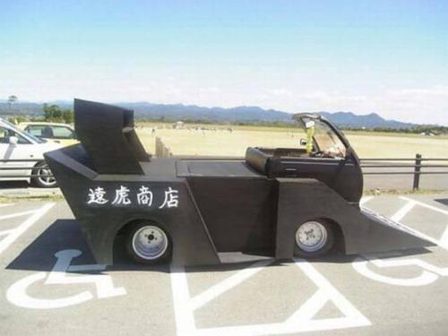 ダメなカスタムをしている自動車の画像(1枚目)