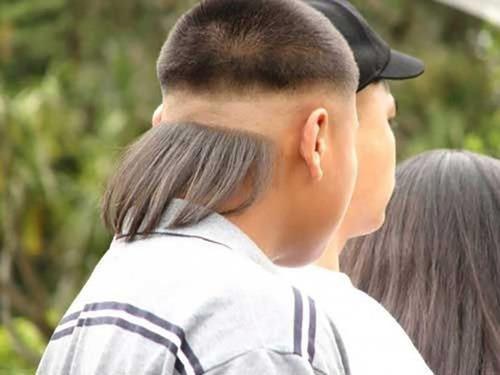 ちょっと斬新過ぎるにも程がある髪型の人たちの画像の数々!!の画像(19枚目)