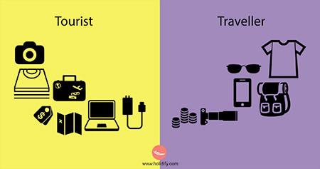 「観光客」vs「旅行者」の比較画像が分りやすい!!の画像(10枚目)