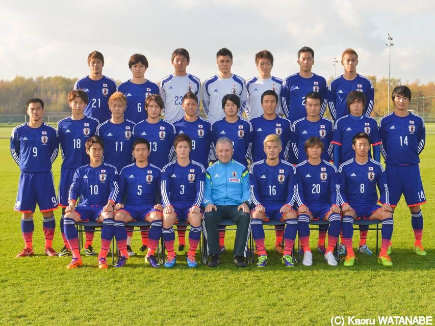 日本代表の集合写真が色々とおかしいwwww
