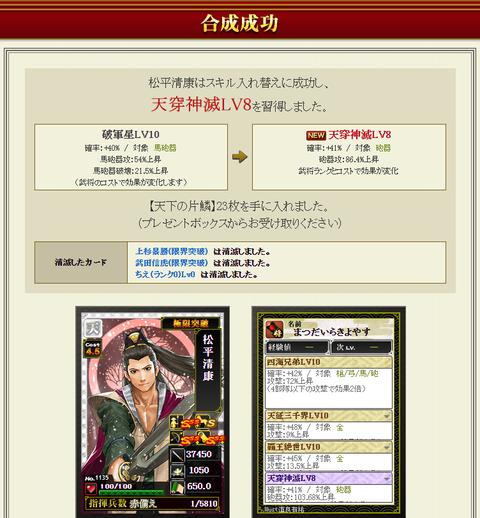 松平4枠目入替失敗