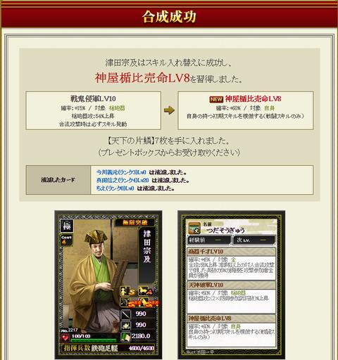 津田合成2・・・成功
