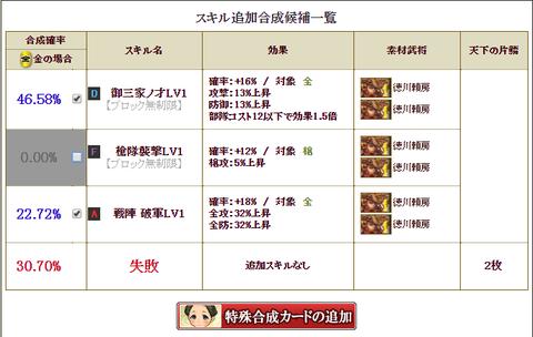 利休4枠目②