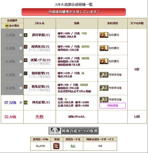 北条合成3枠目リベンジ②