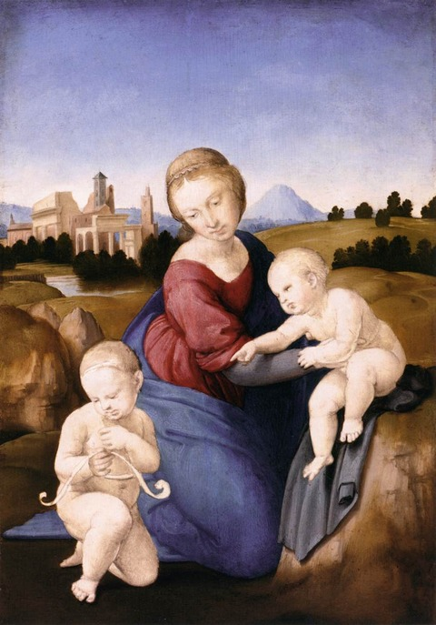 Raffael_029エスタルハージの聖母