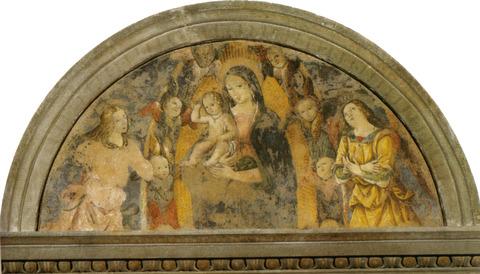 1486  Pinturicchio,_madonna_col_bambino_e_angeli