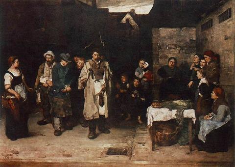 1872‐73 夜の浮浪者