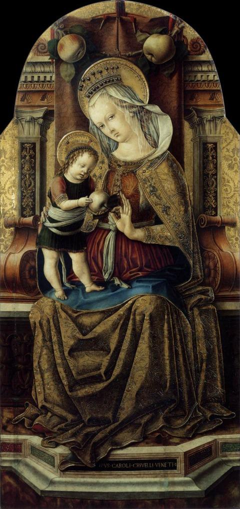 茨の聖母 カルロ クリヴェッリ