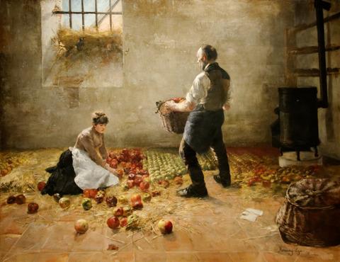 Apple_harvest_Lajos_Karcsay