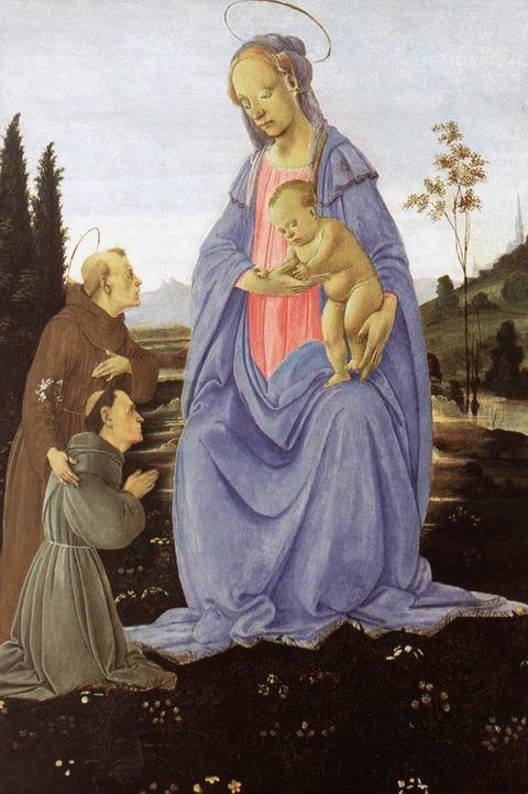 1480 聖母子 フィリッピーノ・リッピ