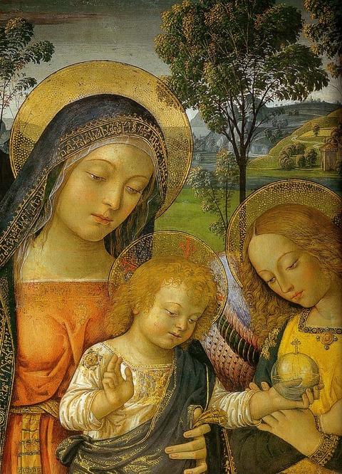 1490   平和の聖母Pinturicchio,