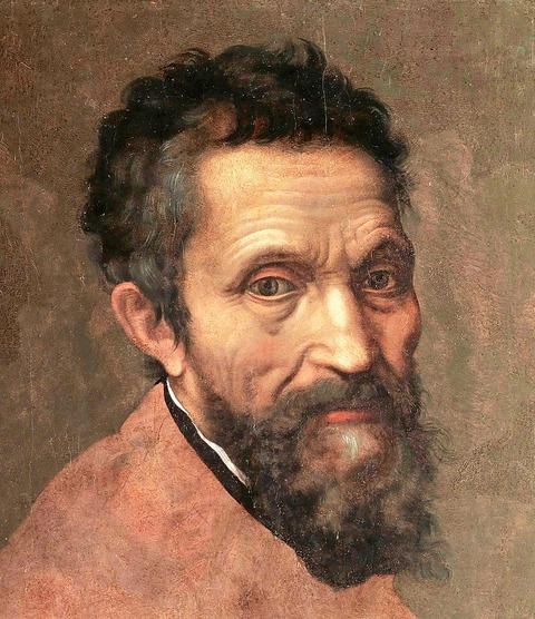 ミケランジェロの肖像 ダニエレ・ダ・ヴォルテッラ
