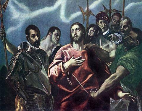 キリストの捕縛 エル グレコ