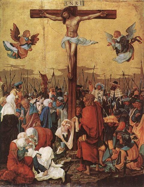 1520 十字架のキリスト  アルトドルファー作