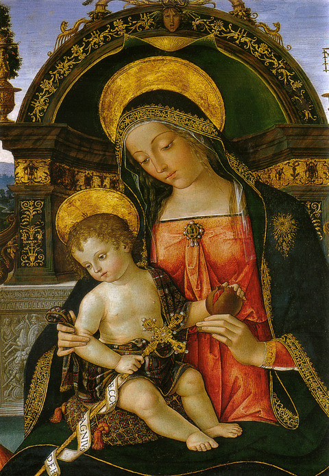 1496-98 フォッシの聖母Pinturicchio