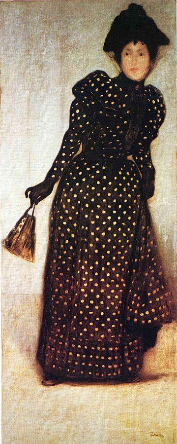 1889 リップル・ローナイ・ヨージェフ Ronai_dottedlady