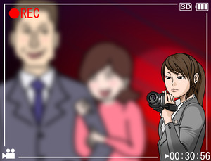 女探偵_証拠撮影