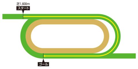 香港マイル コース形態