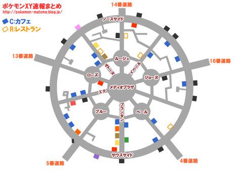 ポケモンXY全体地図