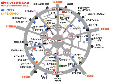 ミレアシティ詳細地図