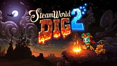 PC版『Steamworld Dig 2』 - Switchのコントローラーでも遊べる!