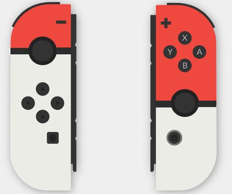 """【Switch】ジョイコンを """"モンスターボール"""" カラーに染めてみた!!"""