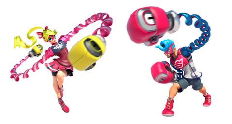 Nintendo Switchの『ARMS(アームズ)』が、無限の可能性を秘めててワロタ。