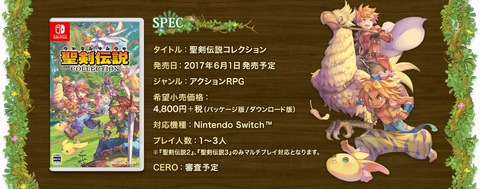 【Switch】聖剣伝説コレクションは、衝撃の起爆剤やで!!!
