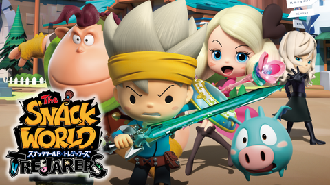 【3DS】レベルファイブ待望の新作『スナックワールド』さん! 初週97,534!!!! なわけで・・・・