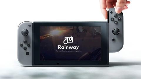 "【Switch】超待望 ""Rainway"" のアップデート情報!! プロトタイプ ""映像"" を公開!!"