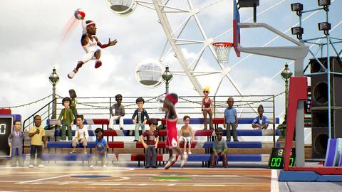 【Switch】バスケットボールゲーム『NBA Playgrounds』もうすぐ発売!!