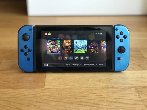 【衝撃】 Nintendo Switchの、メタリックブルーバージョン!!
