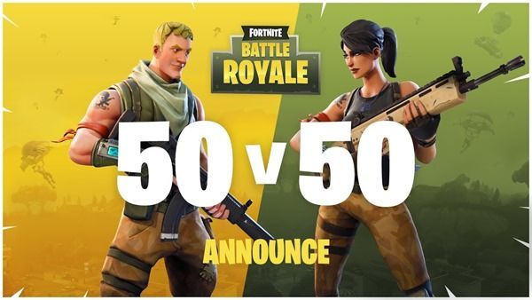 fortnite 50vs50