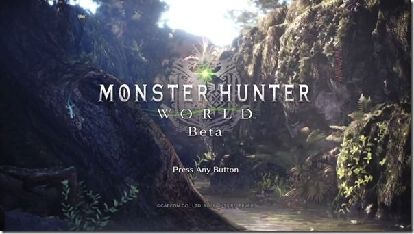 monhan world beta