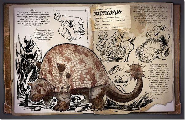 Ark Doedicurus Dossier