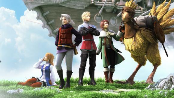 RT GAME   PSP版『ファイナルファンタジーIII』 トレーラーを公開!